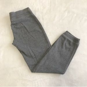 Gap Light Gray Cropped Sweatpants Size Small